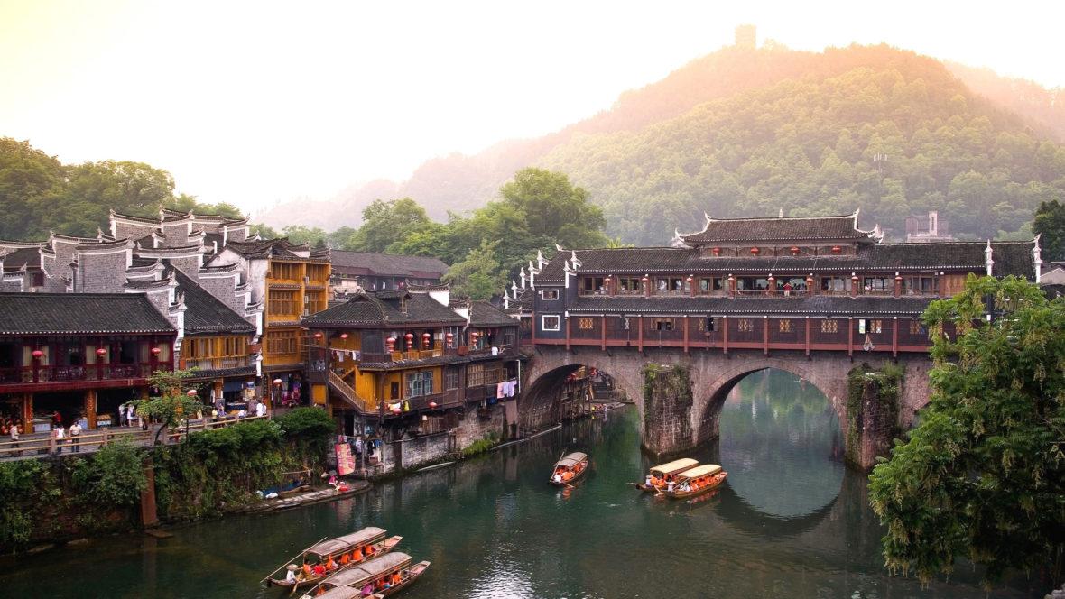 Du Lịch Trung Quốc – Trương Gia Giới – Phượng Hoàng Cổ Trấn
