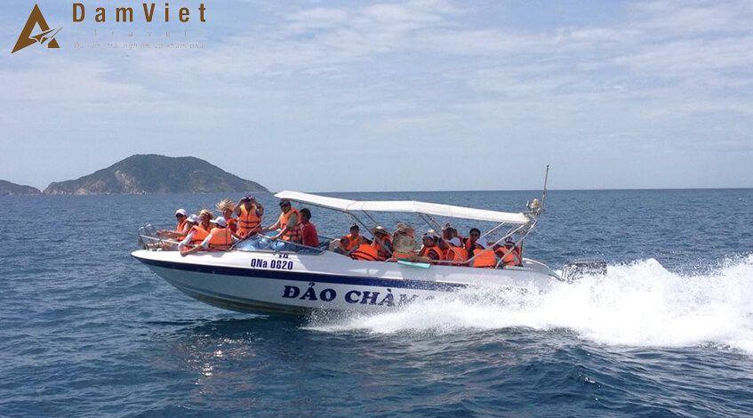 Cano đi Cù Lao Chàm