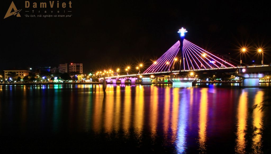 Cầu sông Hàn ở Đà Nẵng