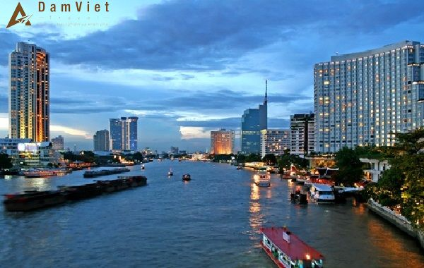 Dòng sông Chaopharayahuyền thoại
