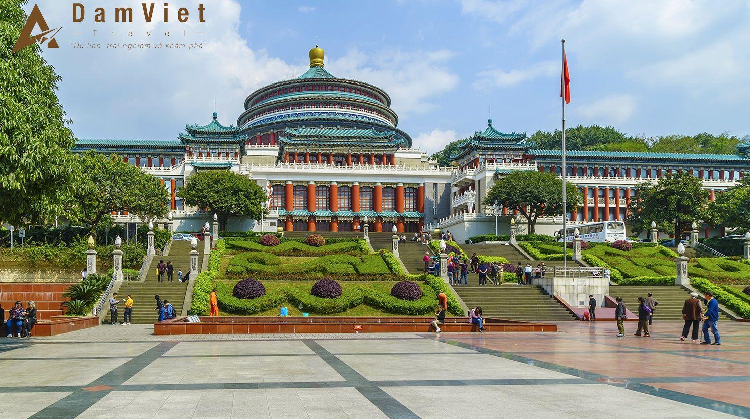 Tour du lịch Trùng Khánh-Bắc Kinh-Thượng Hải