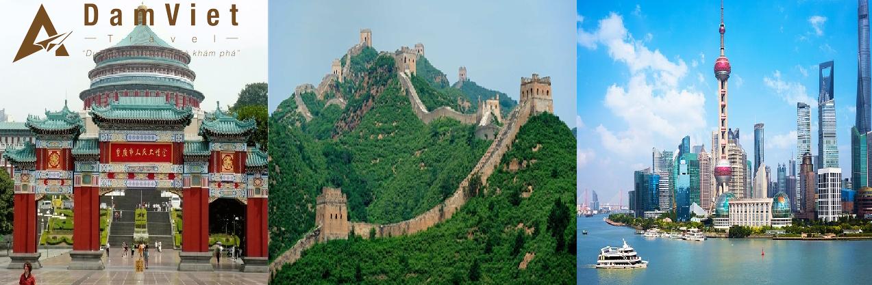 du lịch Trùng Khánh-Bắc Kinh-Thượng Hải