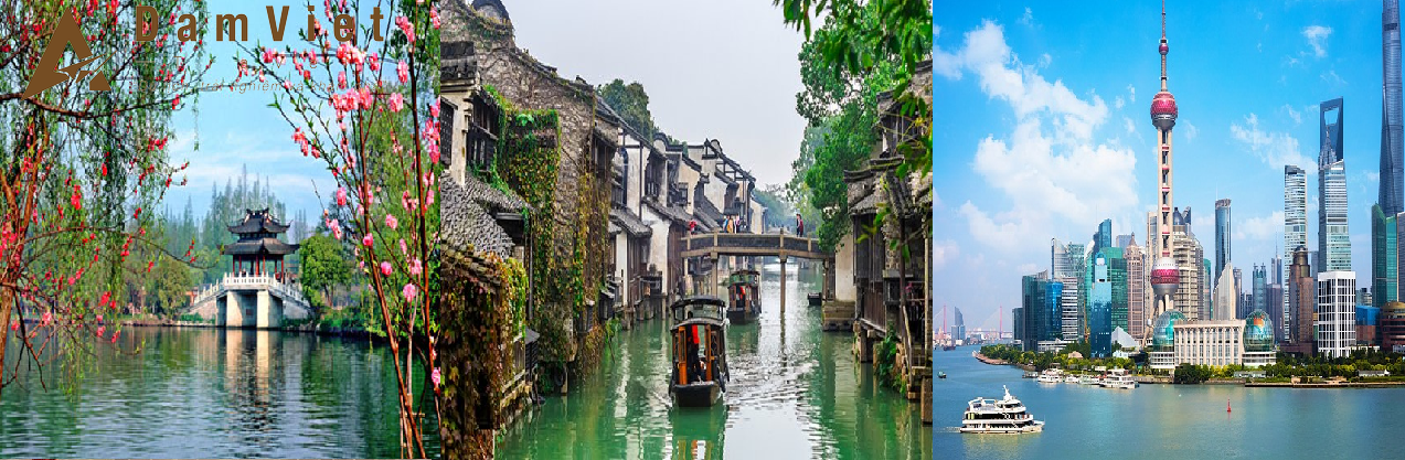 Du lịch Thượng Hải-Hàng Châu-Ô Trấn