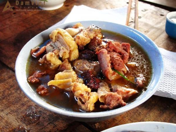 Món Nậm Pịa ở Mộc Châu
