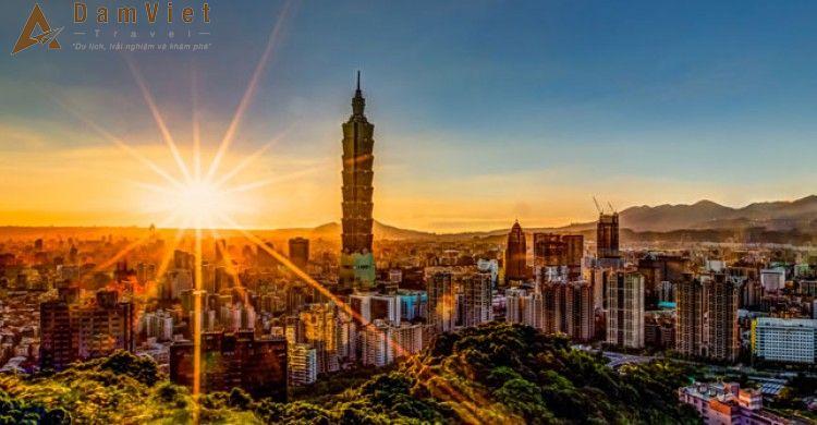 Du lịch Đài Bắc-Đài Trung-Cao Hùng
