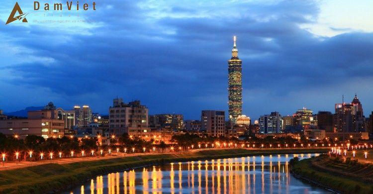 Du lịch Đài Trung - Cao Hùng - Đài Bắc