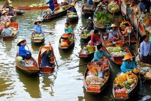 Sài Gòn – Mỹ Tho – Bến Tre – Cần Thơ – Châu Đốc