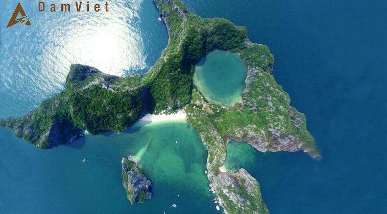 Đảo Mắt Rồng ở Hạ Long