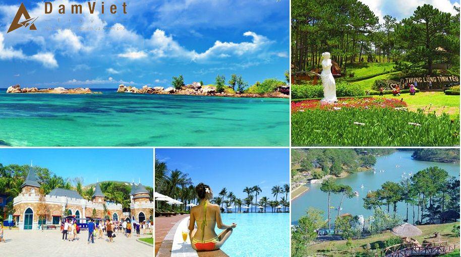 Du lịch Đà Lạt - Nha Trang