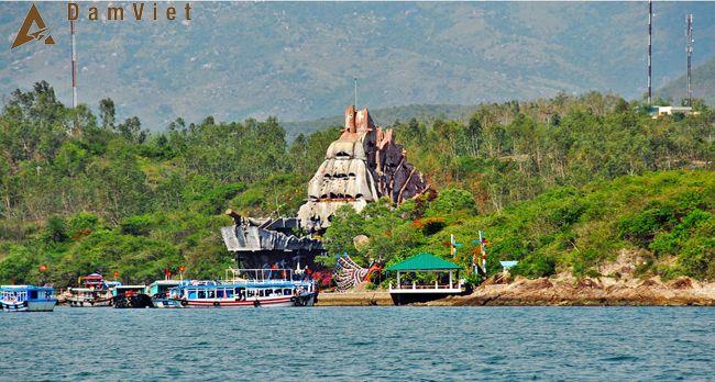 Đảo Hòn Miễu ở Nha Trang