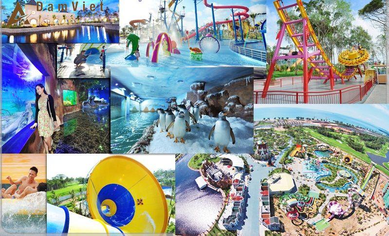 khu vui chơi Vinpearlland Phú Quốc