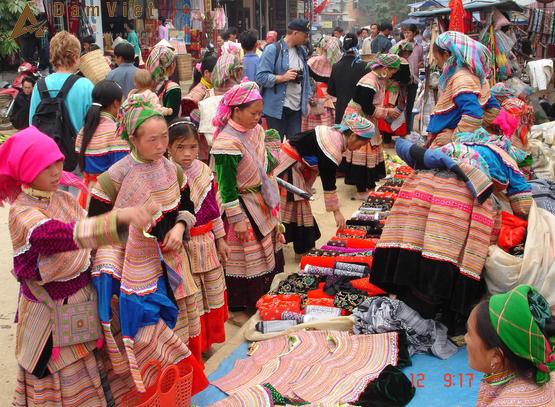 Chợ phiên ở Sapa