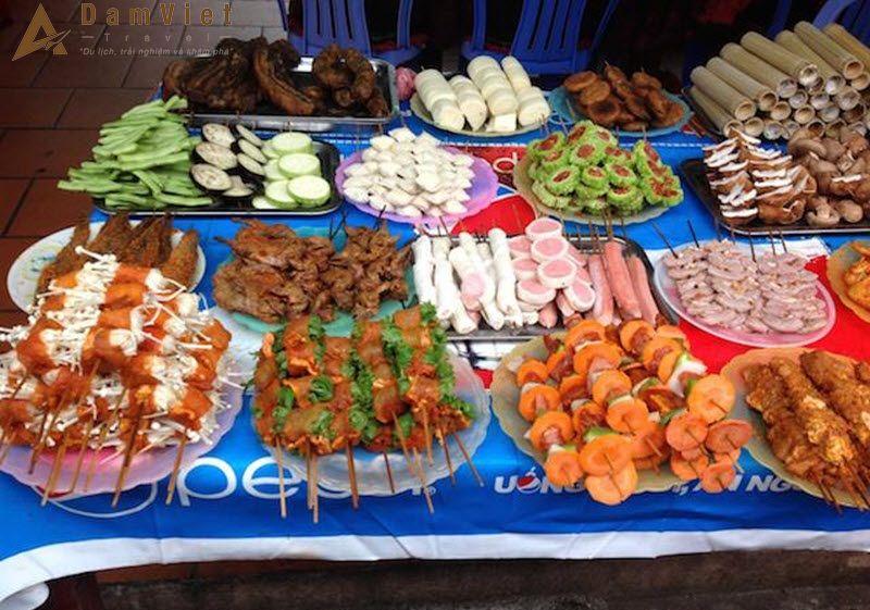 Các món nướng ở Sapa
