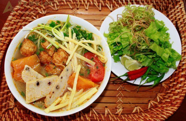Bún chả cá ở Nha Trang