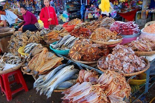 Hải Sản ở Chợ Đầm