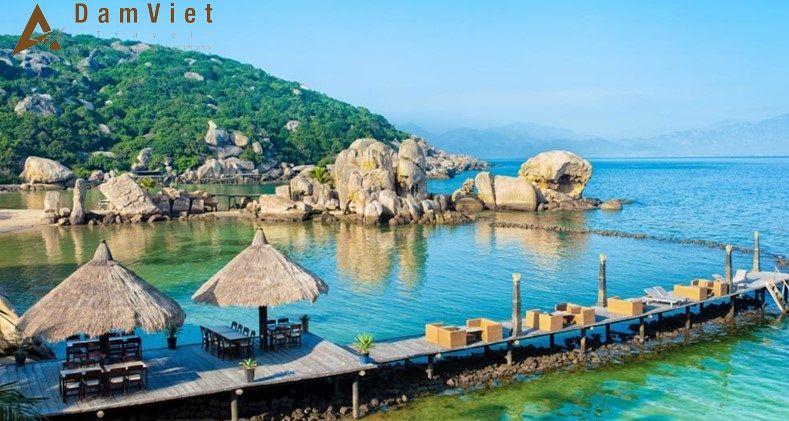 Đảo Bình Lập ở Nha Trang