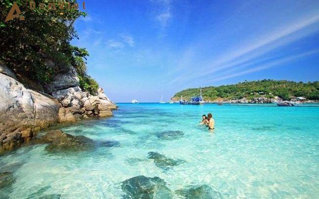 Đảo Hòn Tre ở Nha Trang