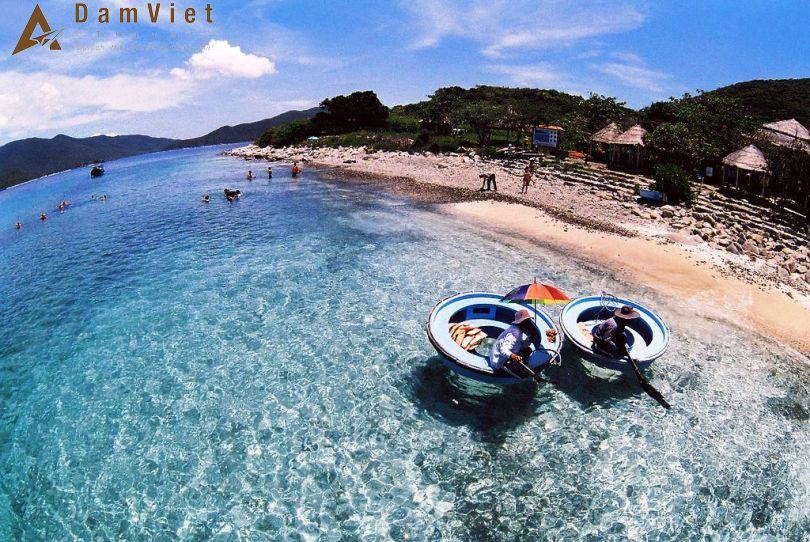 Đảo Hòn Mun ở Nha Trang