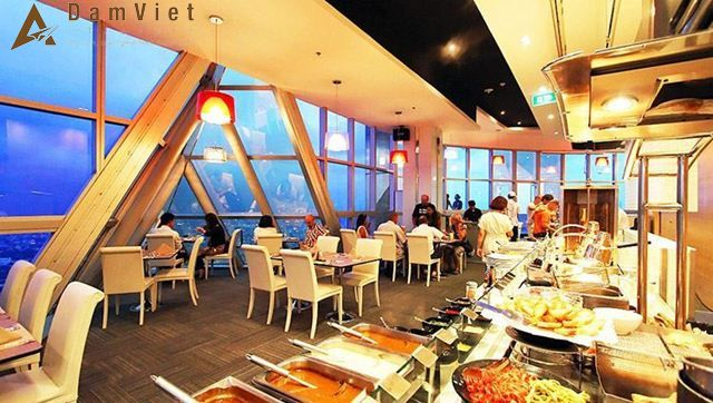 Buffet tại Baiyoke Sky