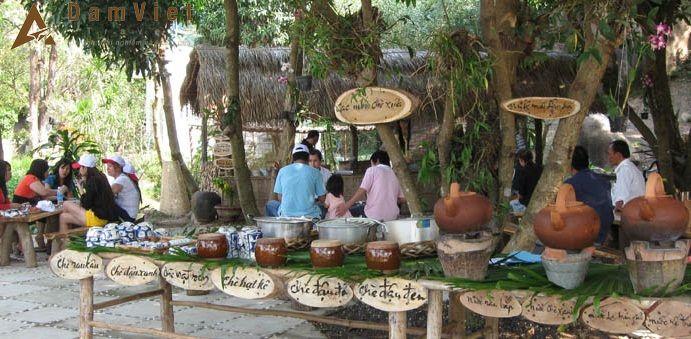khu ẩm thực Hương Việt