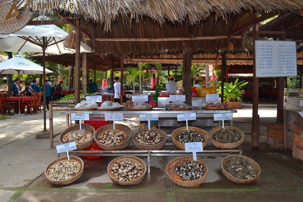 Hải sản ở Đảo Khỉ