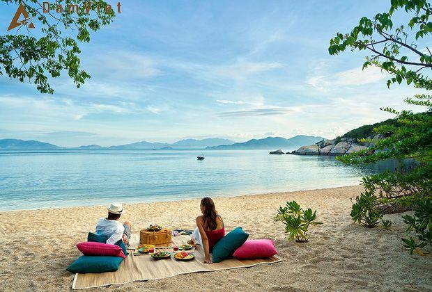 picnic trên biển