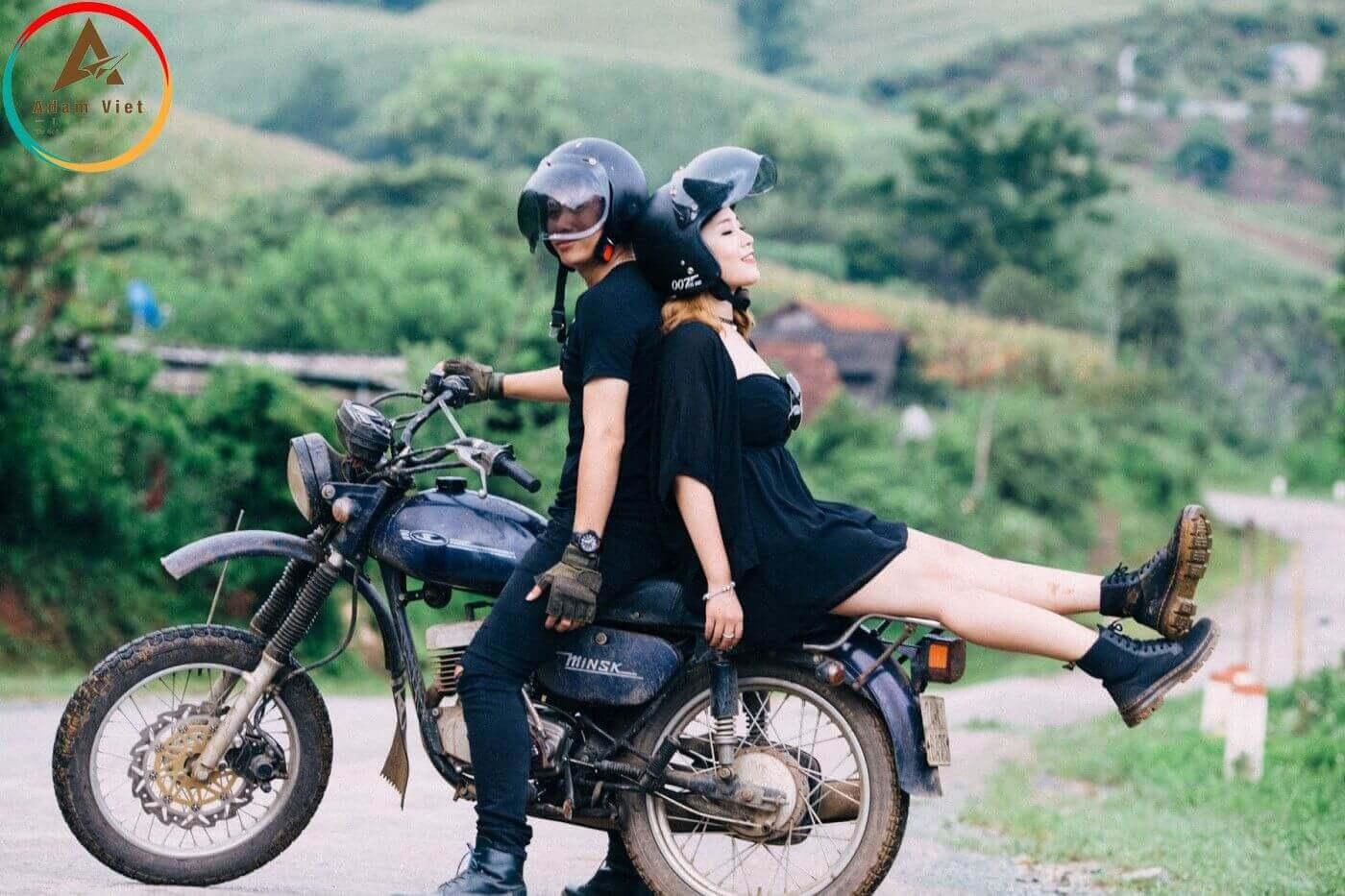 xe máy đi Đà Lạt