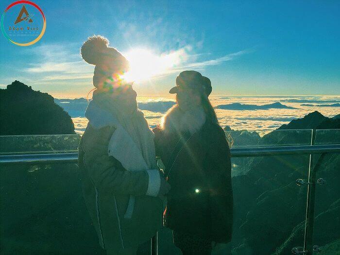 Du lịch Sapa - ngắm hoàng hôn trên Fansipan