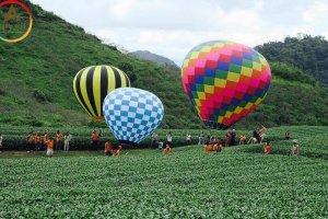Hot – Mộc Châu tổ chức lễ hội khinh khí cầu quốc tế vào ngày Valentine