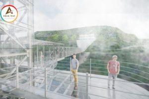 """Cầu kính cao 500m tại Sapa – Thêm một cây cầu kính treo vách núi cho giới trẻ """"sống ảo"""""""